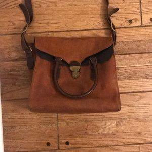Madewell leather crossbody shoulder bag